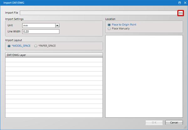Schematic Capture - Import DXF/DWG