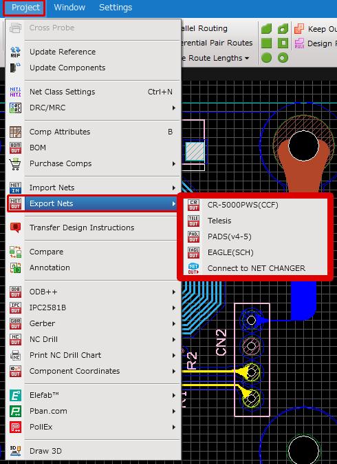 Schematic Capture - Export Netlist on