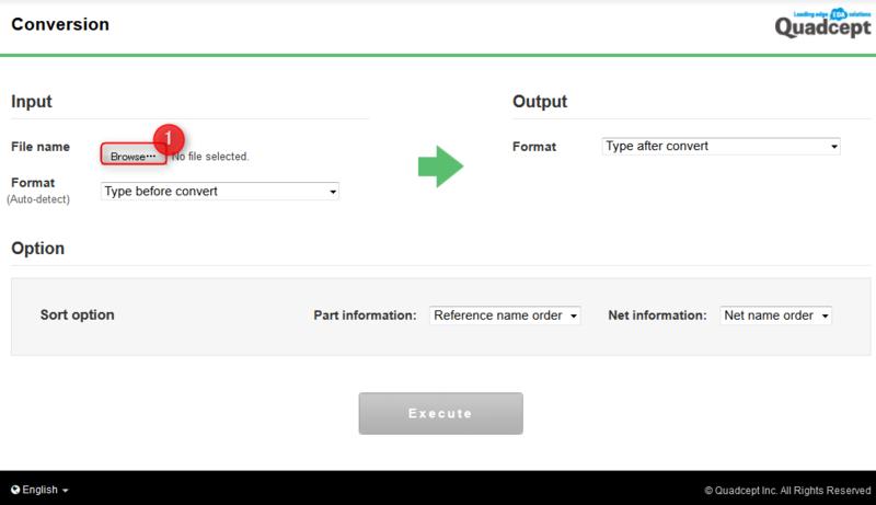 NET CHANGER - Netlist Conversion